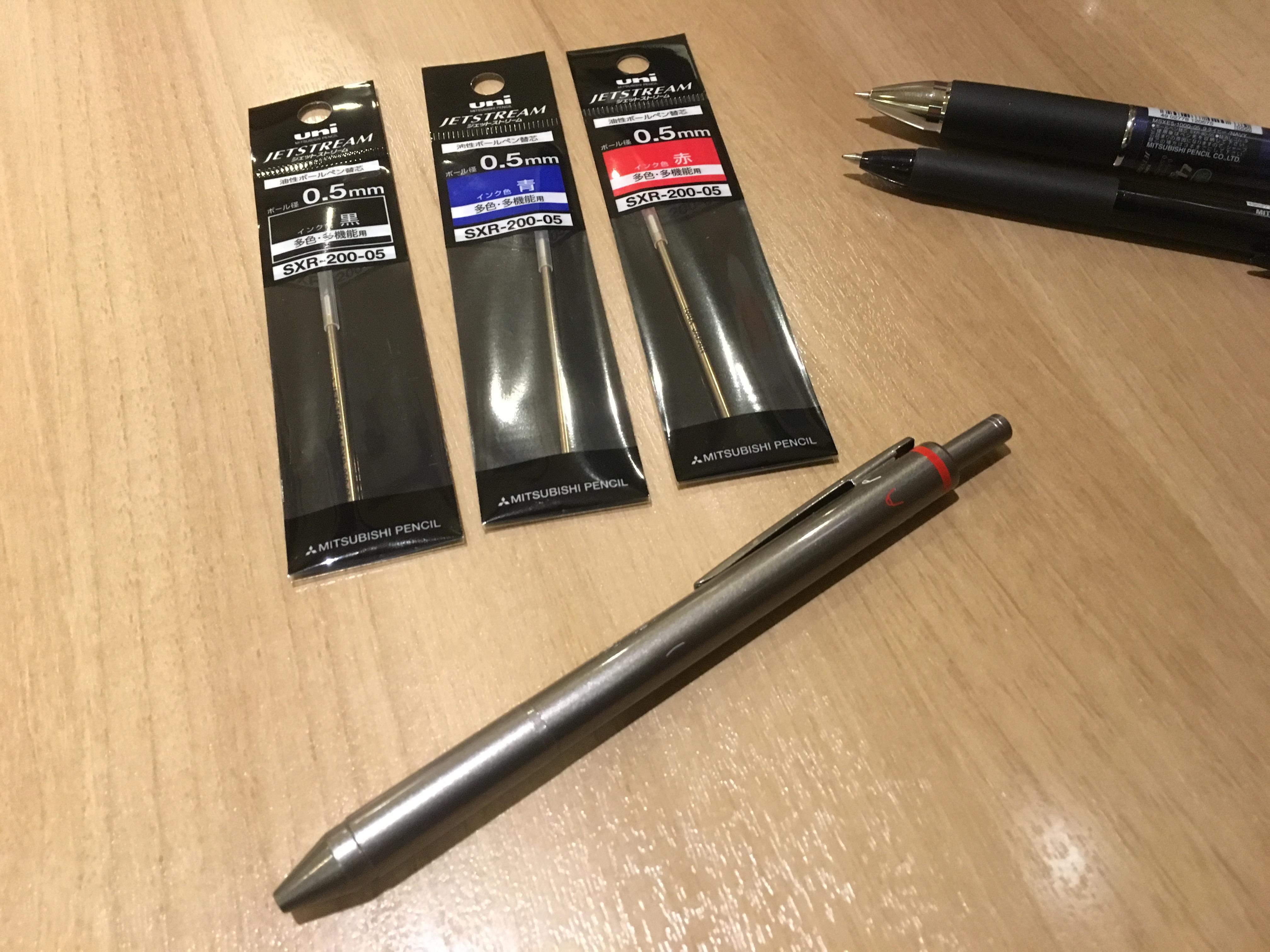 ロットリング4in1 x ジェットストリームで自分好みのカスタマイズペンを作る