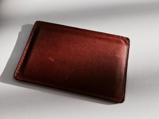土屋鞄コードバンパスケース ヌメ革
