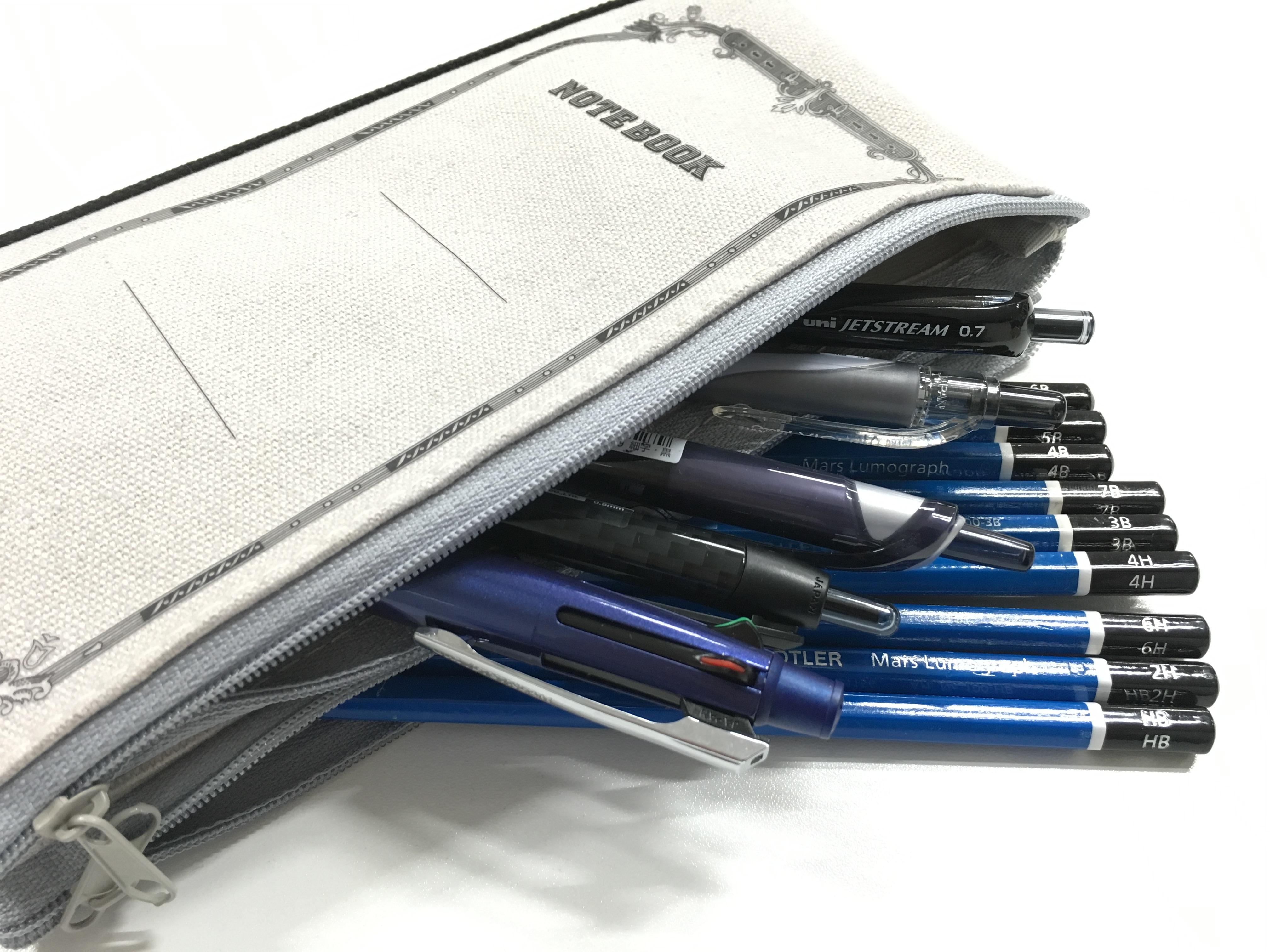 ツバメノートのペンケースを購入しました。ツバメノート × CUBIX のコラボレーション