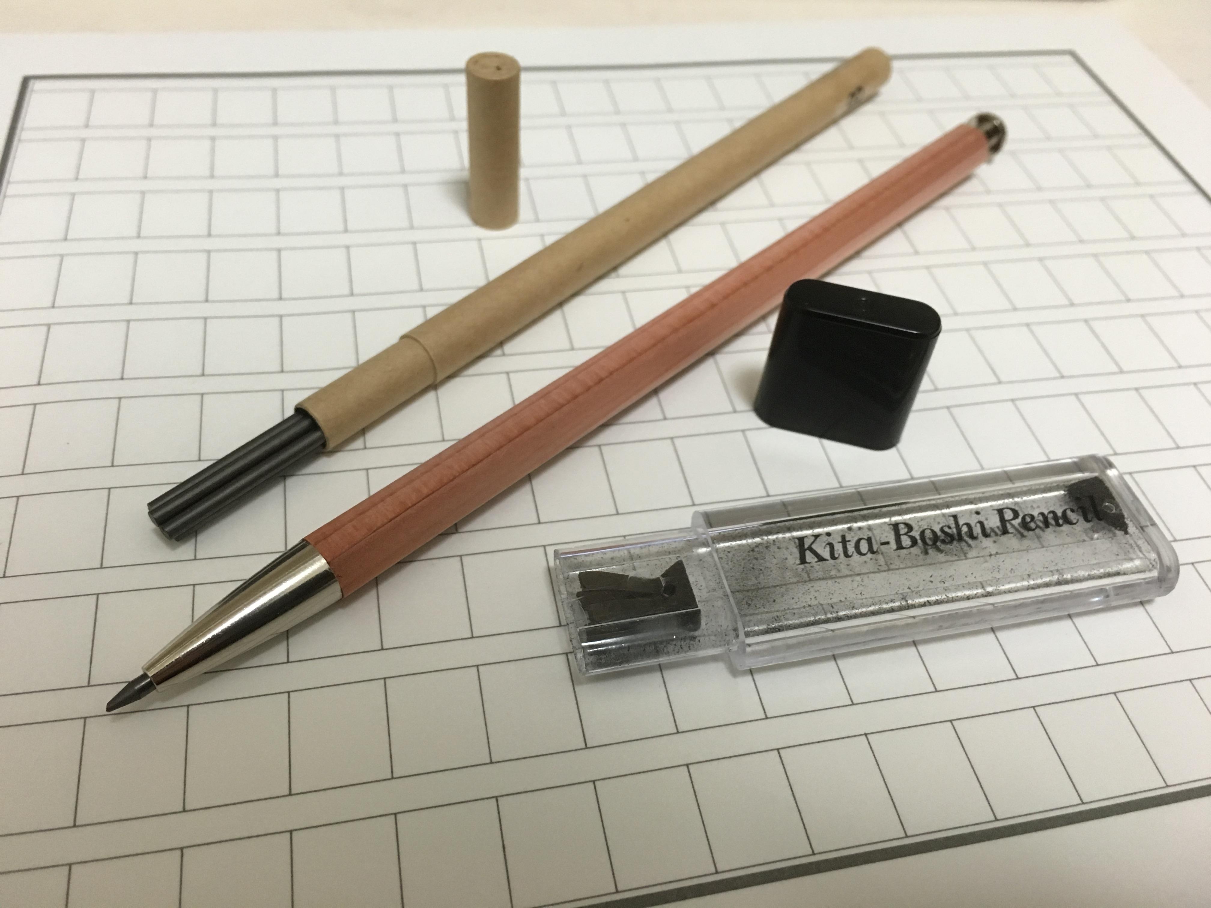 大人の鉛筆 – 木のぬくもりが最高に懐かしい2mm芯シャープペンシル。いや、芯ホルダー。