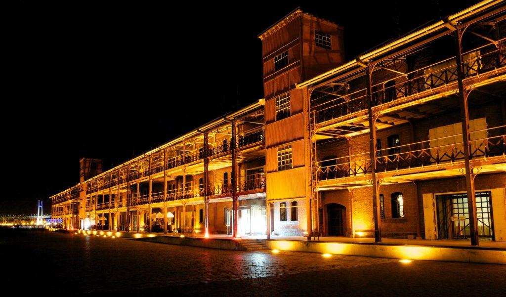 赤レンガ倉庫夜景