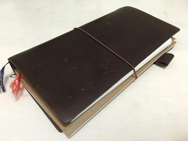 トラベラーズノートでジブン手帳を使う