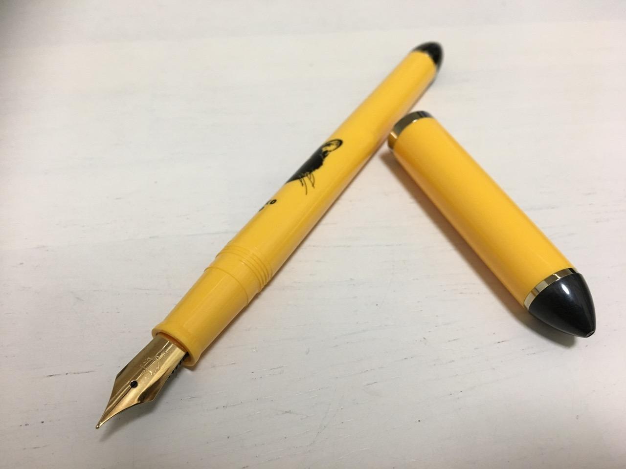 クロネコ万年筆