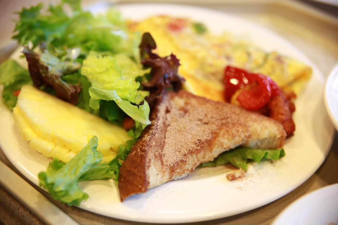 エンバシースイーツの朝食