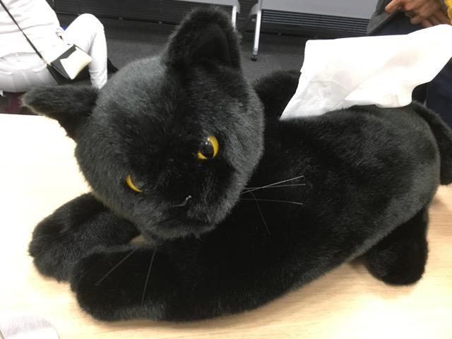 ネコのティッシュケース