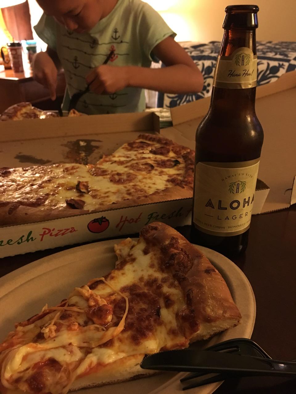 ウルカフェのピザ