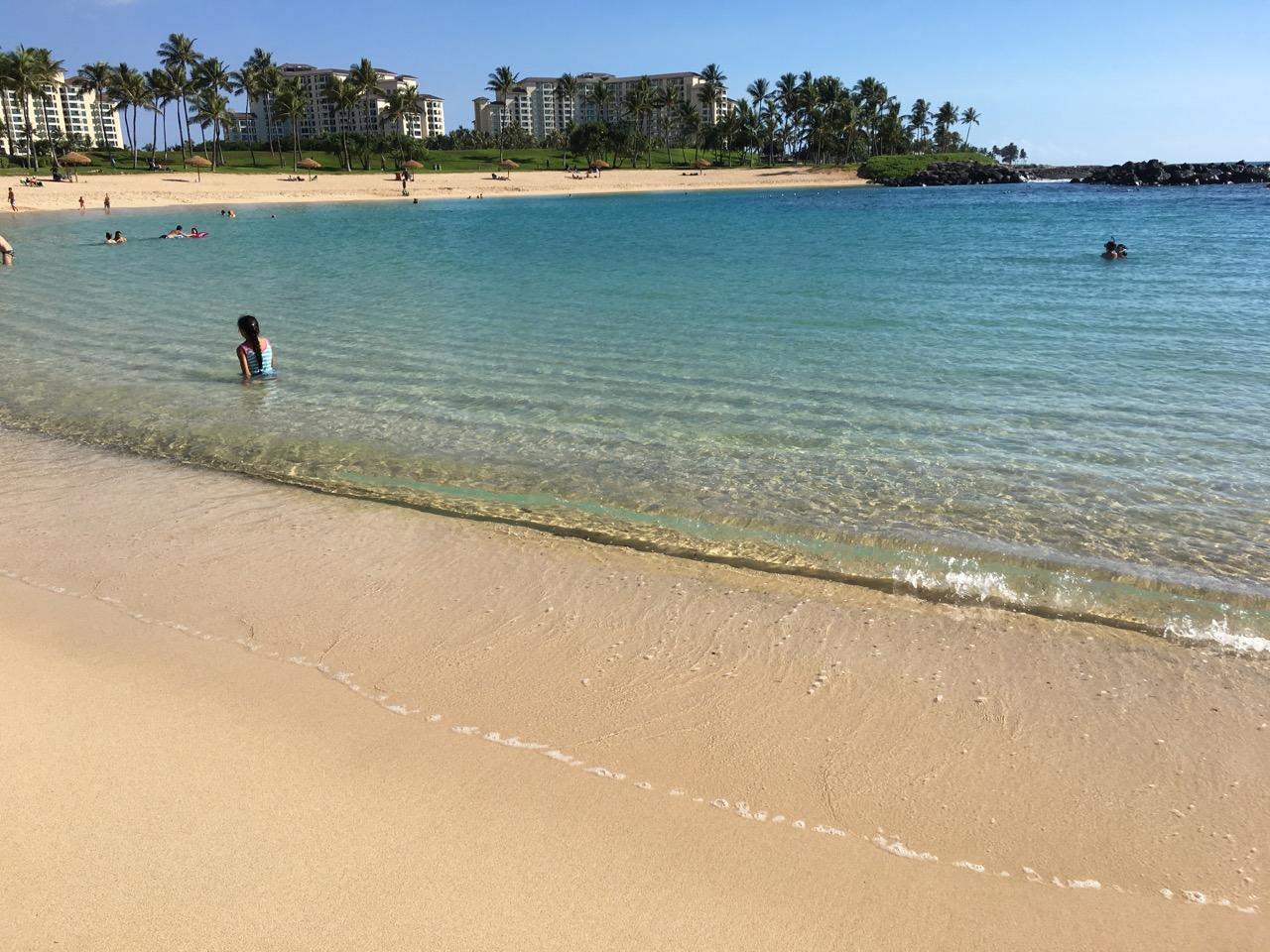 アウラニディズニーリゾートのビーチ