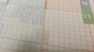 ジブン手帳に対してボールペンの裏抜けテストから4ヶ月後の状況報告。