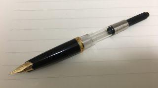 純正コンバーターが取り付けられない古いモンブラン万年筆に取り付けられるコンバーター