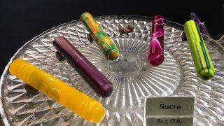 【helico in Tokyo 2017 】美しい軸ばかりで惚れぼれ。次は必ず万年筆をお迎えしたい!