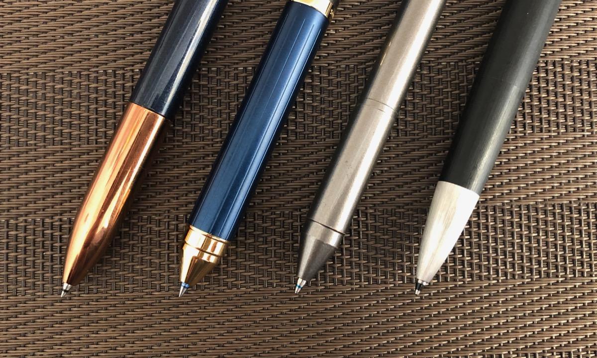 各種多機能ボールペンのペン先