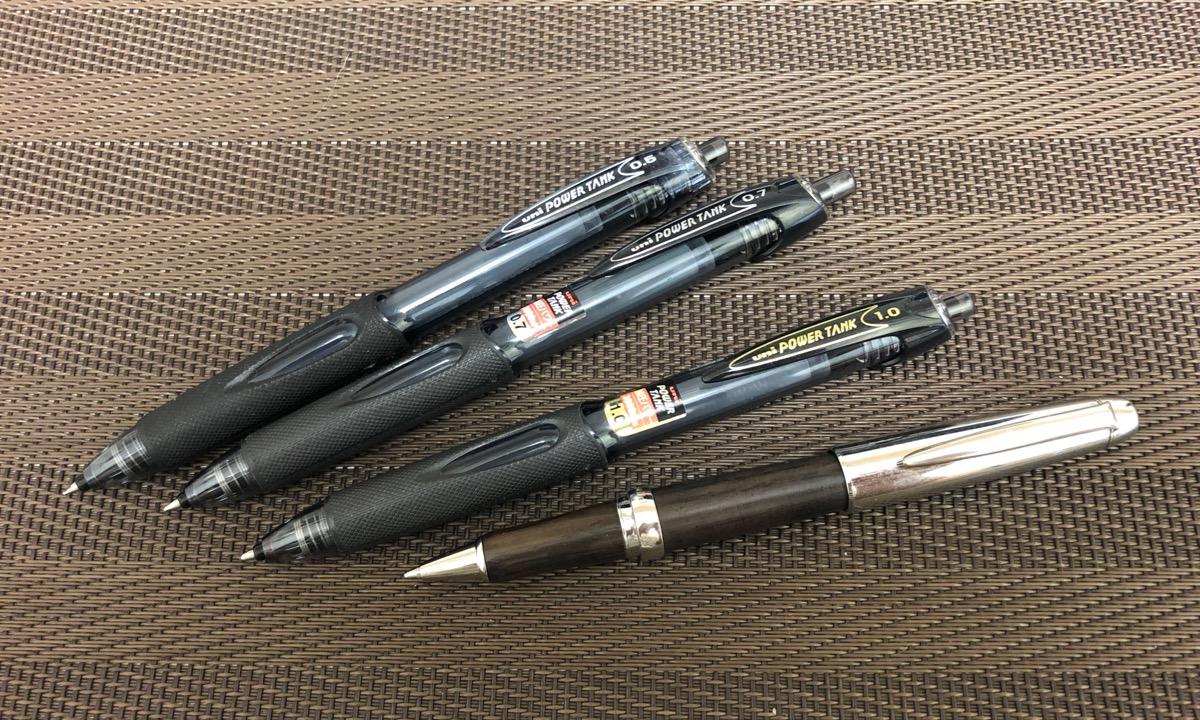 三菱鉛筆 加圧式ボールペン