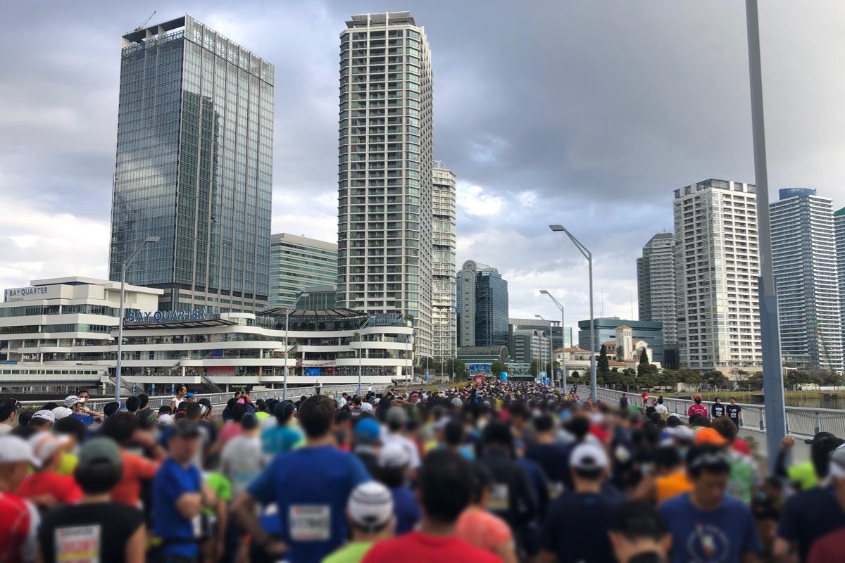 横浜マラソン2018スタート地点