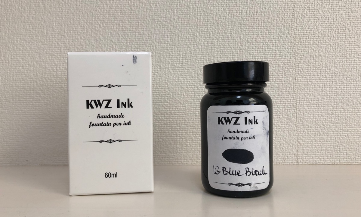 KWZ Ink IG Blue Black