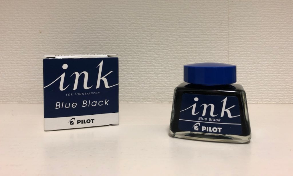 Pilot ブルーブラック
