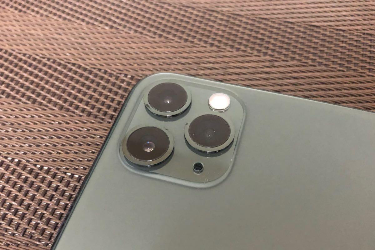 iPhone11 Proのレンズ
