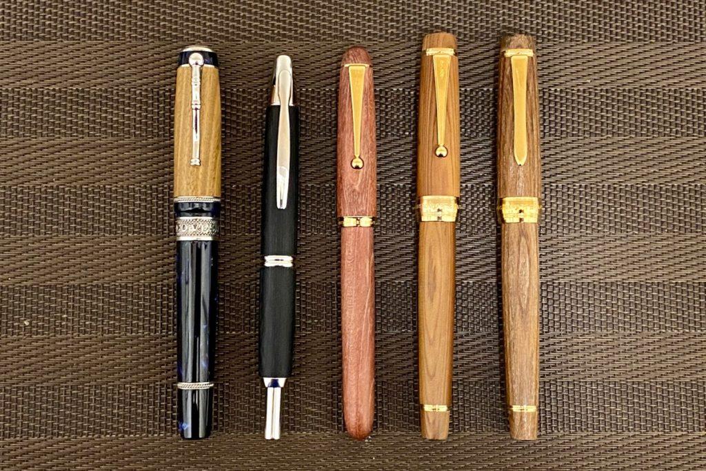 木軸万年筆