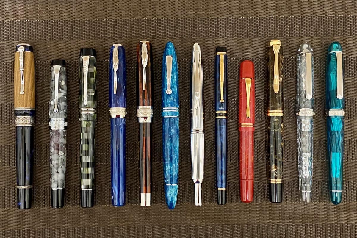 綺麗な万年筆