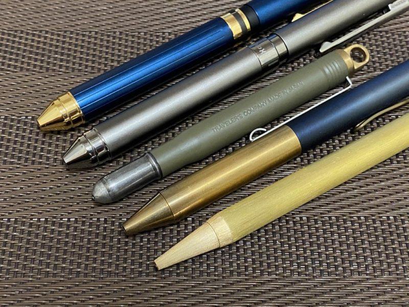 真鍮ボールペン