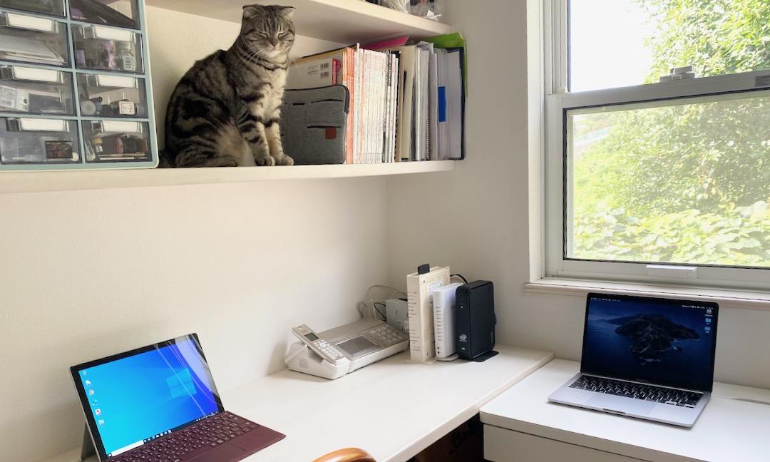 ウェブ会議 パソコンの配置